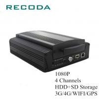 Buy cheap Full Screen Preview Mobile DVR Camera Systems 1080P 4Ch HDD/SD 4G/WIFI/GPS from wholesalers