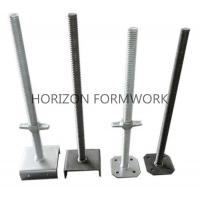 Buy cheap Adjustable Screw Jack Head For Ringlock Scaffolding System Dia 48mm x 5mm product