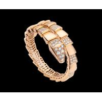 Buy cheap Bvlgari  Serpenti 18kt pink gold bracelet with demi pavé diamonds Ref. BR855312 from wholesalers
