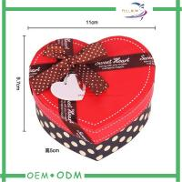 Buy cheap Heart Shape Chocolate Gift Boxes , unique wedding gift box packaging from wholesalers