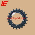 Buy cheap IHISCE IHI30J mini excavator undercaariage parts sprocket wheel chain sprocket drive sprocket from wholesalers
