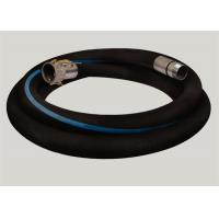 Buy cheap Flange Joint Wire Reinforced Rubber Hose / Corrugated Suction Hose ISO 9001 Approved from wholesalers