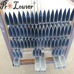 Hot sale aluminum aerobrise sun louvers, external louvers, exterior louver