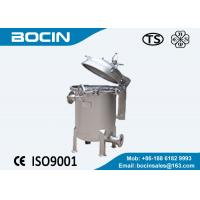 Buy cheap BOCIN high performance Bag Filter Housing carbon steel or 304 316L from wholesalers