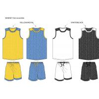 Buy cheap TR 2016 reversible basketball uniform collection from wholesalers