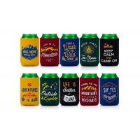 Buy cheap Eco Friendly Neoprene Bottle Holder Custom Can Koozies For Promotional Gifts product