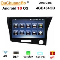 Buy cheap Ouchuangbo android 10.0 car audio gps for Honda CRZ RHD wth swc DSP stereo head unit  4GB+64GB from wholesalers