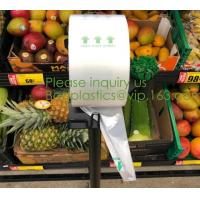 Buy cheap Food produce bag, fruit produce bags, pack 100% Compostable Bags Biodegradable Bags Dog 100% Biodegradable Dog Poop Bags from wholesalers