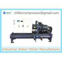 Buy cheap Plastic Industry Screw Type Compressor Water Cooled Chiller Industrial Chiller from wholesalers