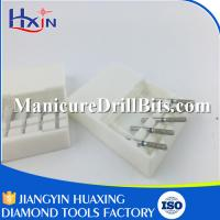 60 Pcs Diamond Head Drill Bit Dental Surgical Instruments Wear Resistance