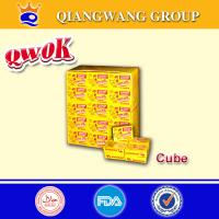 Buy cheap Qwok 10g halal chicken flavour seasoning cube bouillon cube from wholesalers