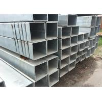 Buy cheap S355JR Rectangular Steel Tubing With Welded Steel Hollow Section SGS / BV / ISO from wholesalers