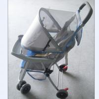 Buy cheap Gray Foldable Baby Buggy Stroller With Storage Basket for Child from wholesalers