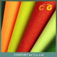 Buy cheap 100 Polyester Home Textile Products Colorful Waterproof Oxford Fabric For Outside product