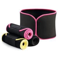 Buy cheap Unisex Adjustable Slimming Tummy Belt Waist Trimmer Band Sweat Belt from wholesalers