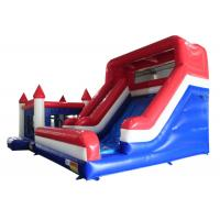 Buy cheap Tarpaulin Inflatable Large Slide / Playground Climbing Combo Bounce House from wholesalers