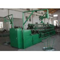 Buy cheap Double Wire Mesh Making Machine /Chain Link Fence Making Machine With PLC Control from wholesalers