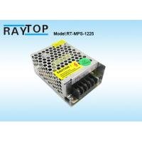 Buy cheap 12V 2A 25W Metal Cased CCTV Camera Single Output Voltage Power Supply Constant Current from wholesalers