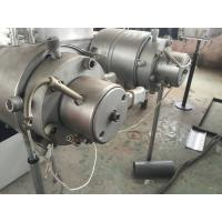 Buy cheap Dual Heads PVC Conduit Pipe Extrusion Machine Line with PLC controlls from wholesalers