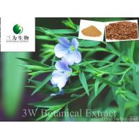 Buy cheap Flax Seed Extract,20%~80% Flax Secoisolariciresinol diglycoside from wholesalers