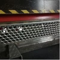 Buy cheap aluminum anti-slip strip for stairs  / perforated metal anti-slip treads from wholesalers