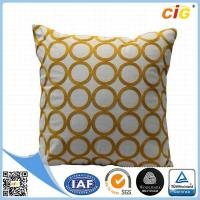 Buy cheap Home Decor Decorative Throw Pillows , Imitated Silk Baroque Printed Throw Pillow from wholesalers