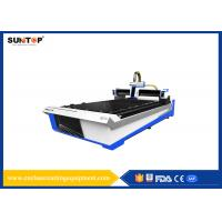 Buy cheap Aluminium Sheet Fiber Laser Cutting Machine 1000W Dual Drive Transmission from wholesalers