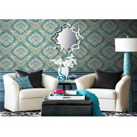 Buy cheap Washable Country Style Wallpaper , Modern Removable Wallpaper Eco - Friendly product