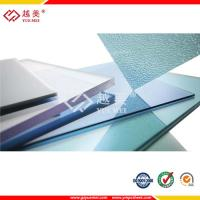 Buy cheap clear high temperature plastic 8mm solid polycarbonate sheet from wholesalers