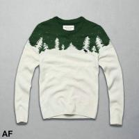 Buy cheap A&F 2015 news update man snowflake/deer pattern sweater autumn/winter cashmere knitted sweater from wholesalers