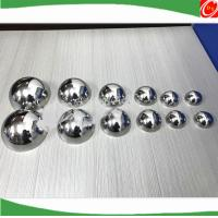 Buy cheap Homemade high quality bath soap mold stainless steel three sizes 42mm 51mm 63mm bath bomb mold for DIY bath bomb from wholesalers