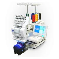 Buy cheap Commercial Single Head Computer Embroidery Machine For Cap / T - Shirt / Flat Embroidery from wholesalers