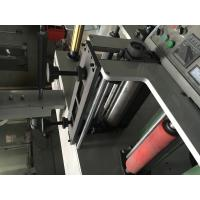 Buy cheap 7color 320 two units(4+3) Label flexo fabric printer machine self-adhesive sticker/label to mould die cutter from wholesalers