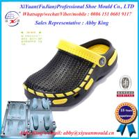Buy cheap Hot Style Men Eva Injection Slipper Mould , Two Color Eva Slippers Sandal Shoes Moulds from wholesalers