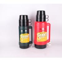 Buy cheap Double cover 1.8 L thermos plastic vacuum flask thermos bottle product