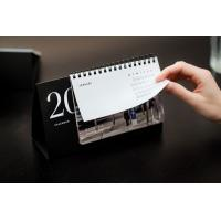 Buy cheap Printed cardboard base promotional table calendar_China Printing Factory from wholesalers