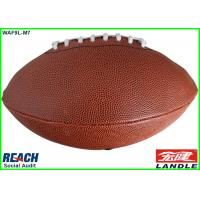 Buy cheap Official Size 5 Small American Football Rugby Training Balls Customised from wholesalers