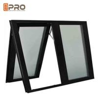 Buy cheap Black Color Aluminium Awning Windows With Chain Winder And Keys For Bathroom from wholesalers