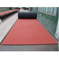 Buy cheap Elasticity EPDM Rubber Sheet , Red Rubber Paver Track Surface from wholesalers
