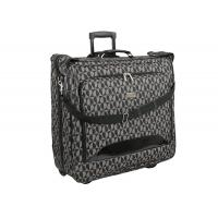 Buy cheap 1200D Polyester Metal Badge Wheel Rolling Large Garment Bag 9 x 44 x 23 Inches from wholesalers