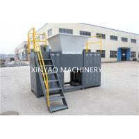 Buy cheap Double Shaft Shredder Machine for plastic films, ton jumbo bags tires from wholesalers