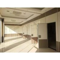 Buy cheap Banquet Hall Decoration Plywood Room Divider / Operable Sliding Partition Walls from wholesalers