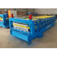 Buy cheap 840 / 900mm Double Layer Roll Forming Machine For Pressing Glazed Roof Tile from wholesalers