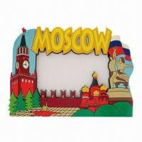 Buy cheap Standard PVC Photo Frame, Customized Colors are Accepted product