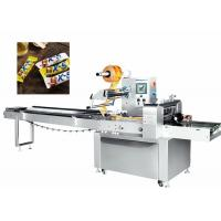 Buy cheap 380V 50HZ Candy Packaging Machine , Candy Pillow Pack Machine Manual Operation from wholesalers