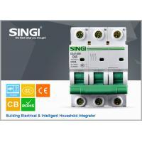 1P 2P 3P 4P C 63 Miniature Circuit Breakers , DZ47-63S electric mcb