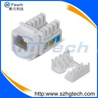 Buy cheap RJ45 Socket Cat6 Keystone Jack UTP 90 Degree from wholesalers