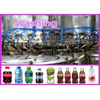 Buy cheap 380V 50HZ Carbonated Drink Soda Water / Cola / Soft Drink Filling Machine from wholesalers