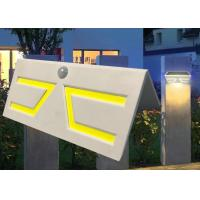 Buy cheap Fashion Motion Sensor Solar Garden Light , Solar Patio Wall Lights Sun Resistance from wholesalers