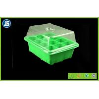Buy cheap Green Seed Germination Tray Blister Packaging Tray 224mm x 214mm x 52mm For Greenhouse product